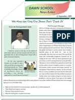 Dawn School - News Letter