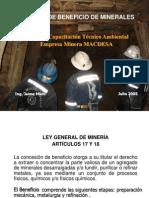 t121 Icm-mdsa b Beneficio-mineral