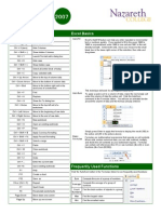Free Excel 2007 QuickRefGuides
