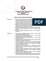 Peraturan Kedisiplinan Mhs 2012