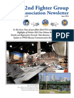 82nd Fighter Group Newsletter #89, June 2014