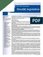 APEX Team Noutati Legislative 3 2014