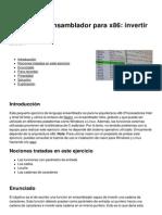 Ejercicio de Ensamblador Para x86 Invertir Cadenas 3583 Kta3qy