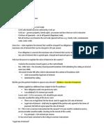 Aligada Lecture Notes
