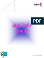 Steam Turbine Operation