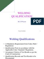 Welding Qualification