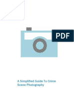 Simplified Guide Crimescene Photography