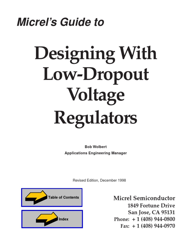 Designing With Low Dropout Voltage Regulatorpdf Power Supply Lm317 Adjustable 20v 15a Simple Smps Tracking Bipolar Junction Transistor