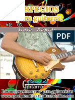 Arpegios Para Guitarra Guia Rapida