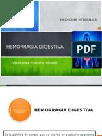 Hemorragia Digestiva Vanessa 2013