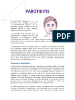Parotiditis. portafolio
