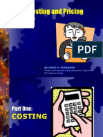 Pricing and Costing_2