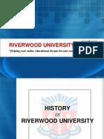 History of Riverwood University