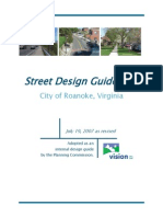 Street Design Guidelines October 2012