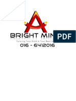 Page Cover BRIGHTmINDS