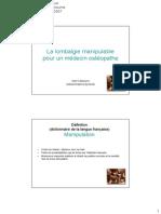 La Lonbalgie Manipulable Par Un Osteopathe (Extrait) - Cassourra