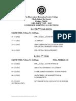 Mid Term Exam BCom M Nov 12