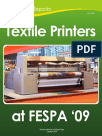Textile Printers FESPA 09