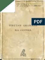 TibetanGrammarJaeschke Text
