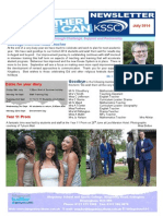 Kingsbury Newsletter July 2014