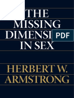 The Missing Dimesion of Sex