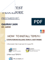 3G Drive Test Steps