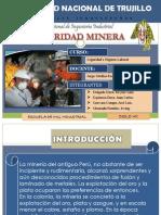 Exposicion Seguridad Minera