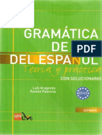 Gramatica Del Uso de Espa 241 Ol C1-C2