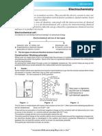 Electrochemistry Theory E