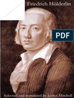 Hölderlin, Friedrich - Poems of Hölderlin (James Mitchell)