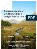 Tsunami Sayadaws Direct Insight Meditation