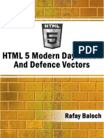 HTML5 Attack Vectors By Rafay Baloch