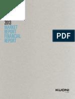 Kuoni Market Report 2013 English