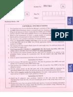 IIT JAm 2014 Paper - CHemistry