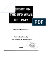 UFO Report on UFO Wave of 1947