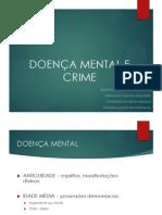 Doença Mental e Crime Slides