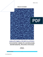 Anatomia Populatiei