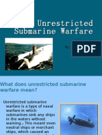 Unrestricted Submarine Warfare2