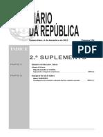 Despacho Normativo 24A 2012