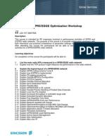 GSM BSS 08 GPRS-EDGE Optimization Workshop