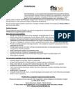 Job Ad - Finance Officer