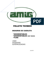 Folleto Tecnico Bisagra Cazoleta
