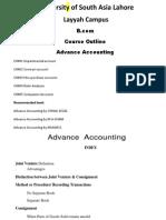 Adv Accounting by ma ghani