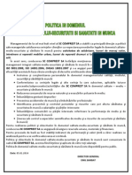 Politica CMSSM 05.01.2014