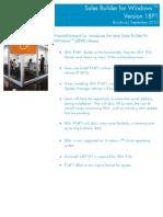 HP SBW R18p1 External Brochure