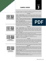 SOF Sample Paper Class 3