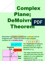 Complex Numbers in Polar Form and DeMoivres Theorem