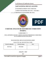 Laboratorio 4 Determinacion de Desigualdad de Suministro de Combustible de Una Bomba de Inyeccion Lineal