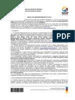 Edital de Credenciamento Para MÚSICA - FINAL 12.03.2014
