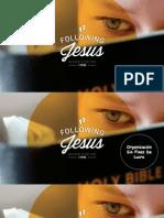 Carta Mensual de Following Jesus
